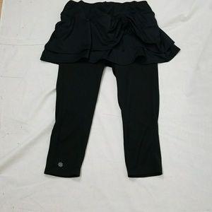 Athleta skirt Capri leggings medium